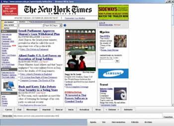 Un navegador centrado en el cibernauta: la ergonomía en la pantalla