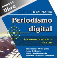 Periodismo digital: Herramientas y retos